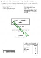 Programme d'aménagement forestier-2011-2030
