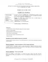Compte rendu réunion du 23 mai 2019